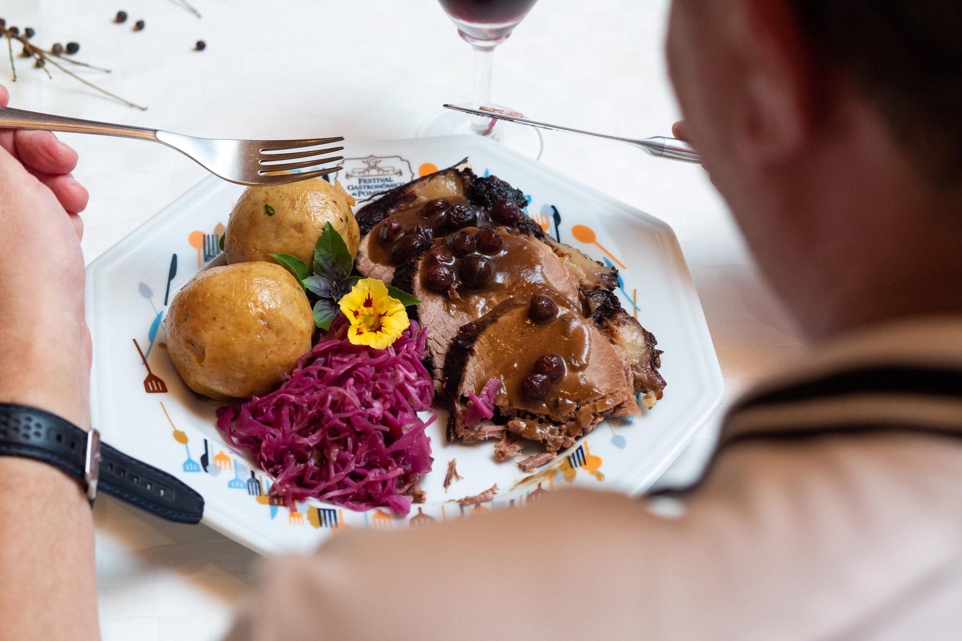 Gastronomia em Pomerode