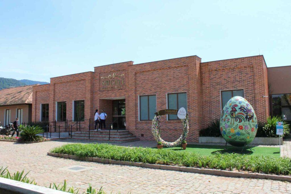 10 coisas que você precisa fazer em Pomerode 08/10 - Conhecer a Fábrica de Chocolates Nugali